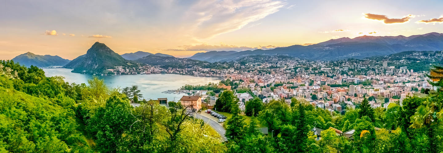 Lugano Tessin Schweiz Berge Panorama Fotolia 80853341 Subscription Monthly M